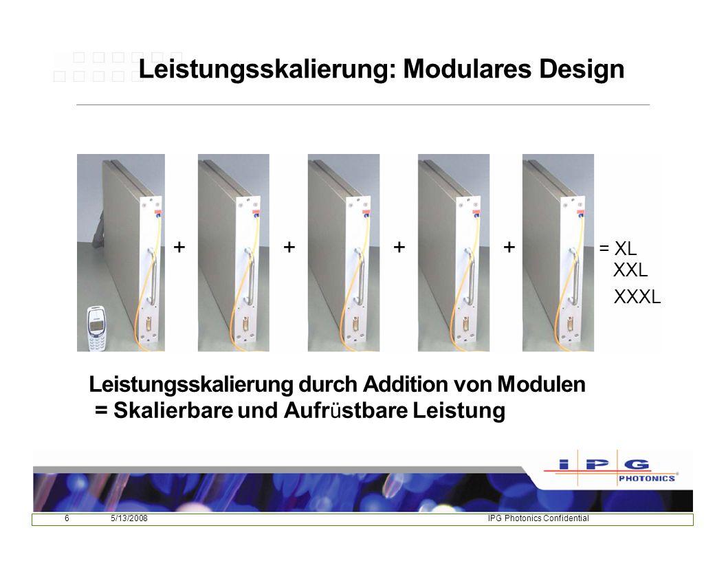 175/13/2008IPG Photonics Confidential Dickblechschweißen mit Faserlasern -Schiffbau -Pipelinebau -Rohrfertigung - Off-Shore-Industrie Laser-Hybrid Laser X70 t = 12 mm P L = 10.5 kW v S = 2.2 m/min