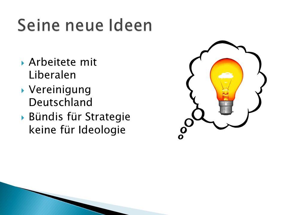 Arbeitete mit Liberalen Vereinigung Deutschland Bündis für Strategie keine für Ideologie