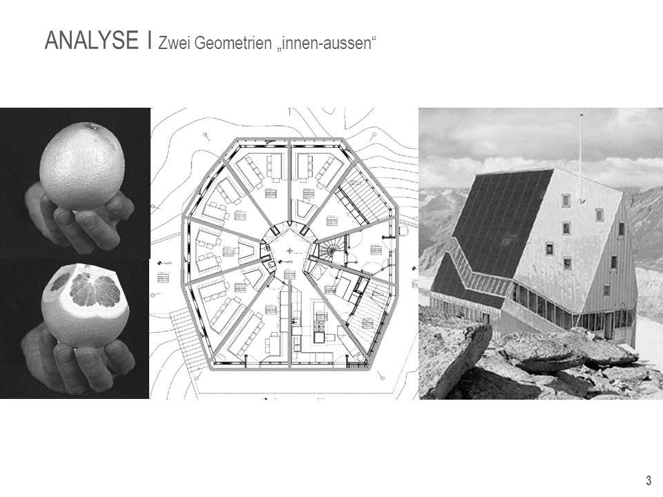 5 DIE IDEE I DER ENTWURF Der Entwurf der neuen Monte Rosa Hütte basierte ursprünglich auf einem Studentenentwurf und war weder technisch noch finanziell realisierbar.