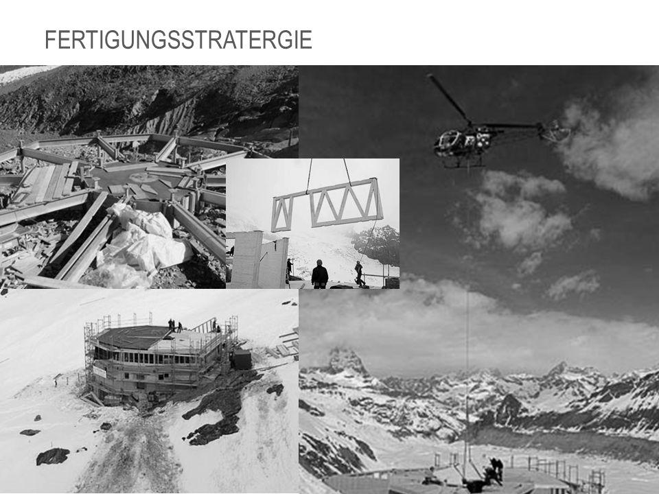 FAZIT Wir hätten am Anfang nicht gedacht, dass die Monte- Rosa- Hütte eine Entwurfszeit von insgesamt 5 Jahren hatte.