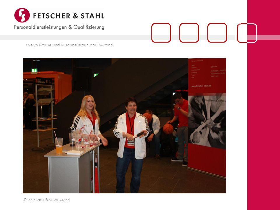 © FETSCHER & STAHL GMBH 19:45 Uhr: das offizielle ratiopharm ulm Team-Maskottchen Spaß mit Pferdle und dem FS-Spezialisten Astronaut sorgen schon mal für Stimmung in der Arena
