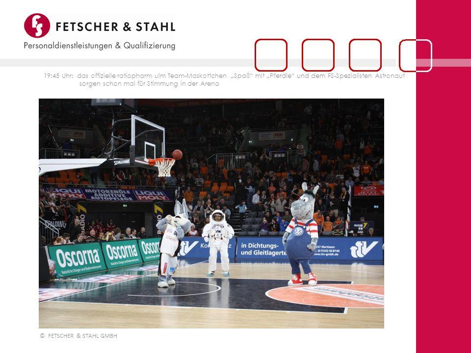 © FETSCHER & STAHL GMBH Mit FETSCHER & STAHL sind Sie am Ball!