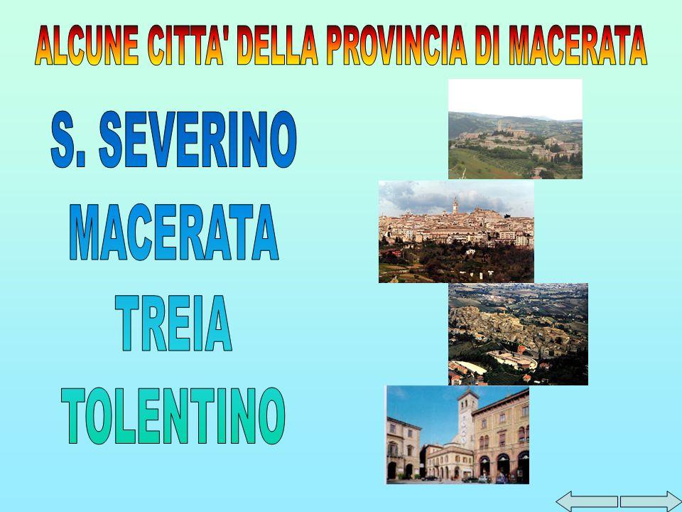 Vi e anche il Palazzo Munizzini costruito nel 15° secolo che ospita la Pinacoteca CivicaTacchi Venturi dove sono costruite opere di Lorenzo dAlessandro, Vittore Crivelli, Bernardino di Mariotto, lAlunno e Pinturicchio.