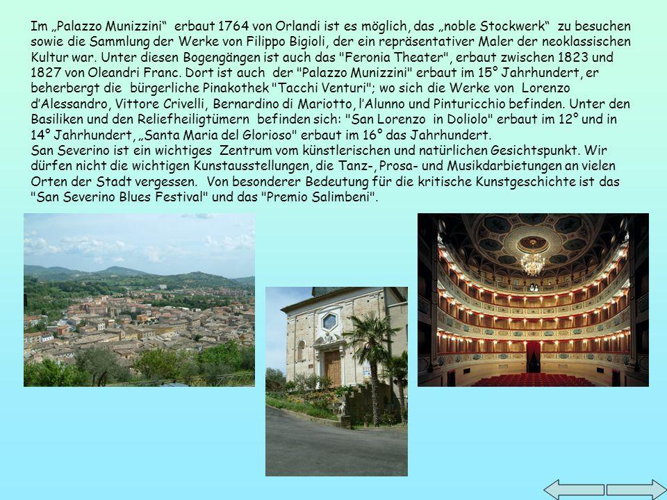 Unsere Schule ist in San Severino Marche.