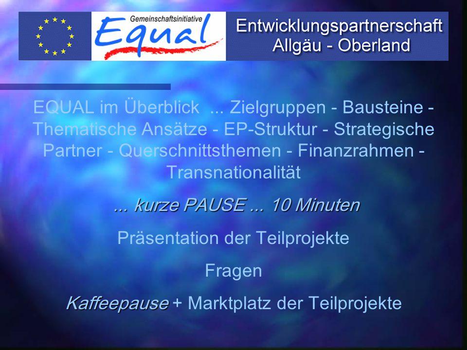 IuK-Technologien EP-Ebene SOWIS-NET Projektebene Schwerpunkt z.B. OHAH Thema in allen Projekten