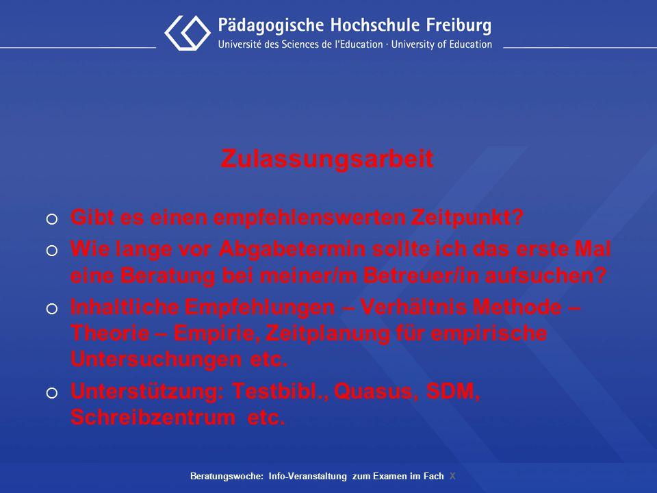 Prüfungsaufbau PO 2003  Schriftlicher Teil  Mündlicher Teil, Schwerpunkte (fachwiss., didakt.