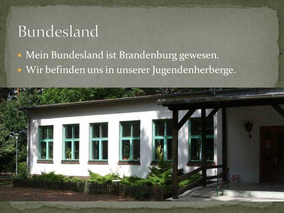Meine Judendherberge ist Köriser See mit Zeltplatz gewesen. Es kostet ungefahr 14€.