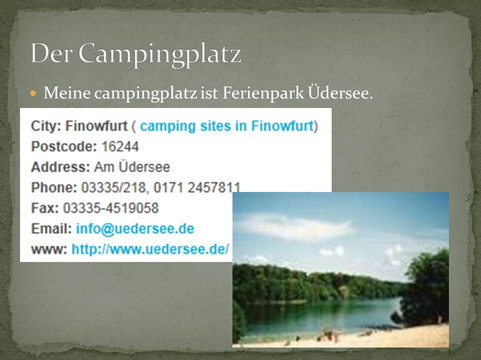 Meine campingplatz ist Ferienpark Üdersee.