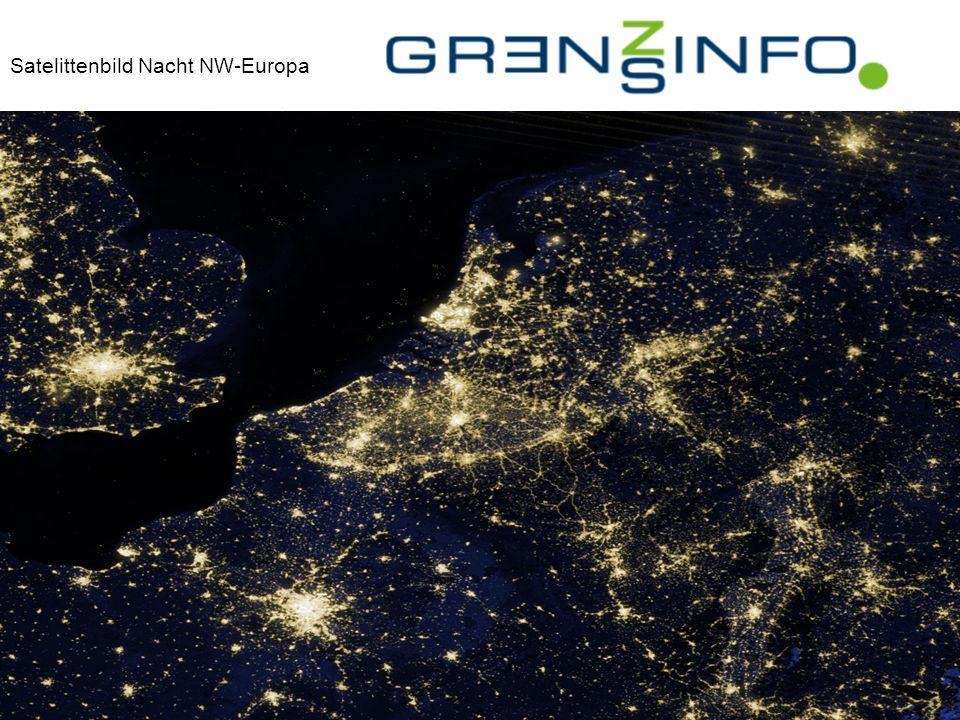 Satelittenbild Nacht NW-Europaopa