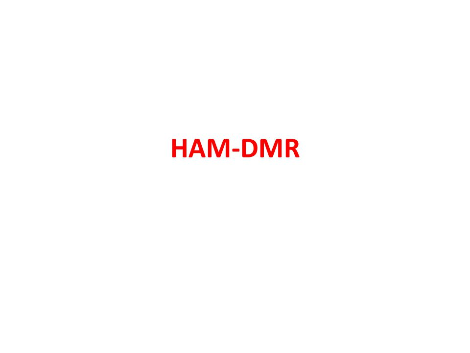 Agenda DMR-Registrierungssystem DSTAR CCS7 Datenbankinterface Hans-Jürgen Barthen DL5DI Torsten Schultze DG1HT