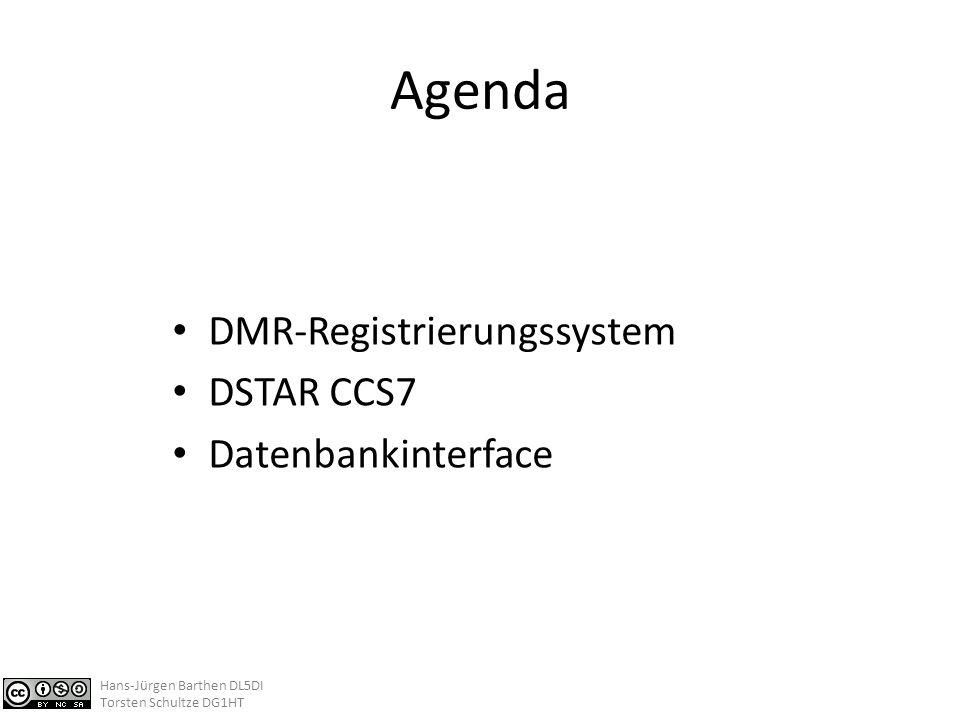 DMR-Registrierungssystem