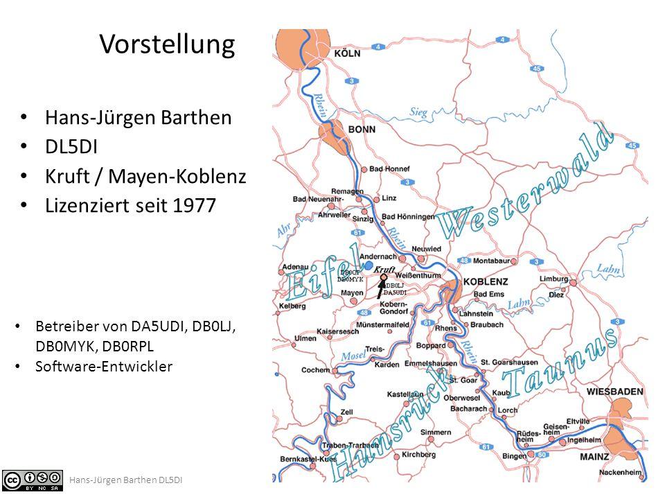 Hans-Jürgen Barthen DL5DI