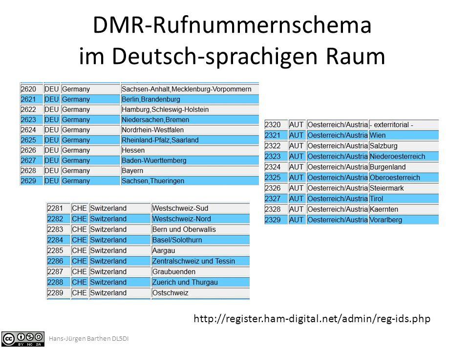 """Datenbankinterface Ausführliche Anleitung mit allen Befehlen und Beispielen findet man im Dateibereich der Yahoo-Group """"APCO25-DMR-DL und hier: http://register.ham-digital.net/download/DMR-RegServer-Database-Interface.pdf Anregungen zu neuen Formaten und Abfrage-Filtern, die von allgemeinem Interesse sein könnten, sind willkommen."""