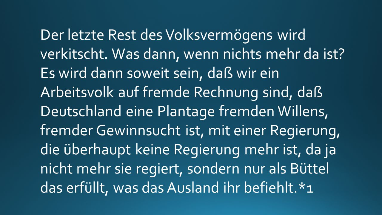 Die Linke: Wo sie die Macht haben, da wenden sie sie an. Aber wie? Zum Verderben Deutschlands.*1