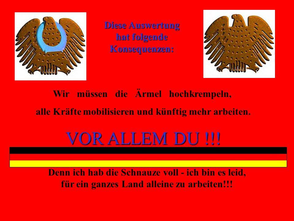 ICH UND DU!!!!!. VERBLEIBEN zum ARBEITEN: 4204 Abzgl.