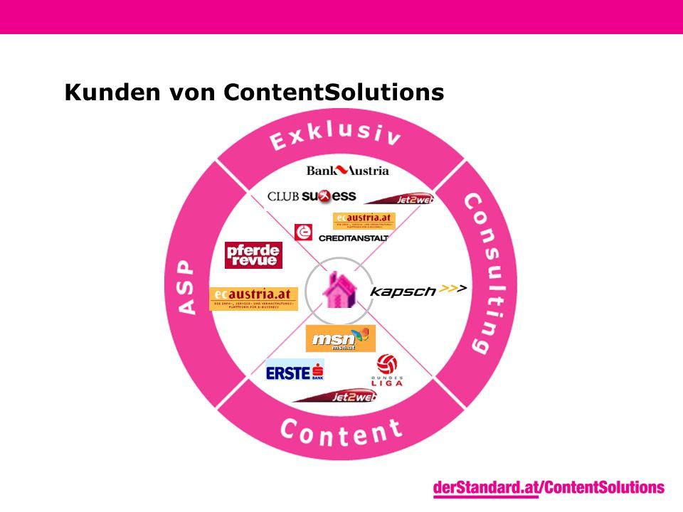 Kunden von ContentSolutions