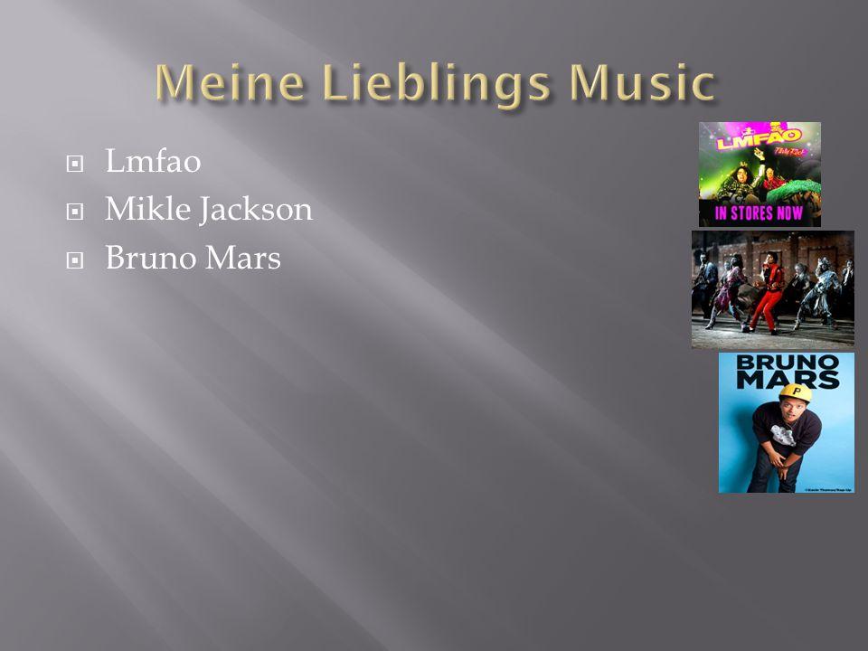  Lmfao  Mikle Jackson  Bruno Mars