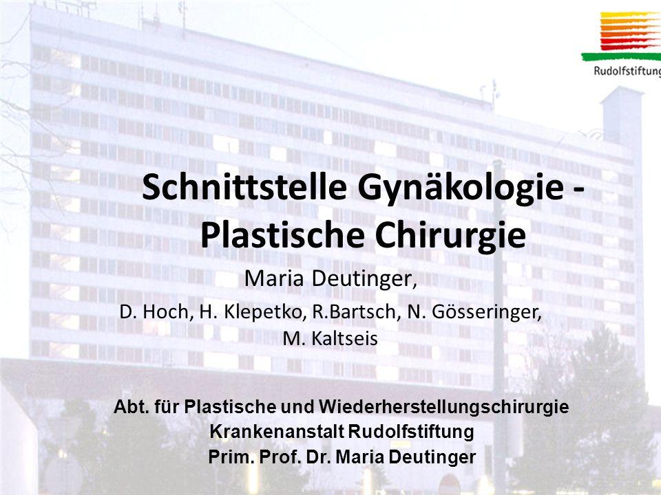 Maria Deutinger, D.Hoch, H. Klepetko, R.Bartsch, N.