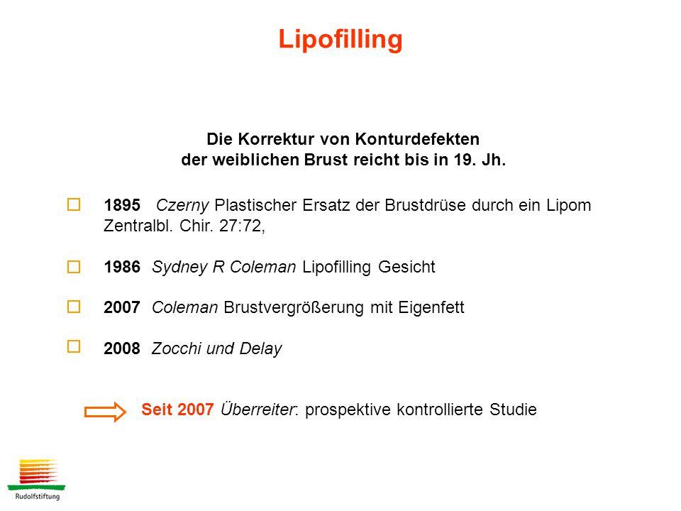 1895 Czerny Plastischer Ersatz der Brustdrüse durch ein Lipom Zentralbl.