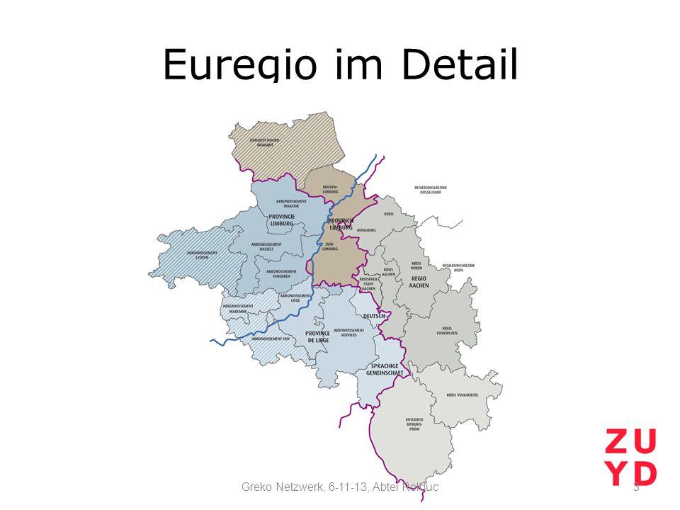 Euregio im Detail 3Greko Netzwerk, 6-11-13, Abtei Rolduc