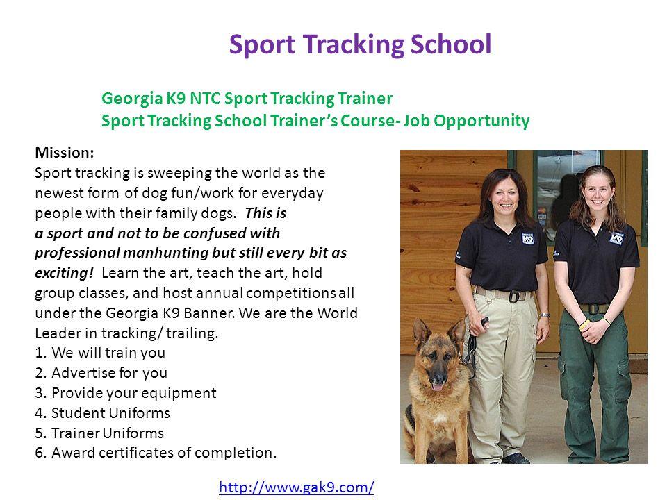 http://www.gak9.com/ GAK9 Europe Georgia K9 NTC is a worldwide K9 Trainer devoted to providing quality K9 Training programs everywhere.