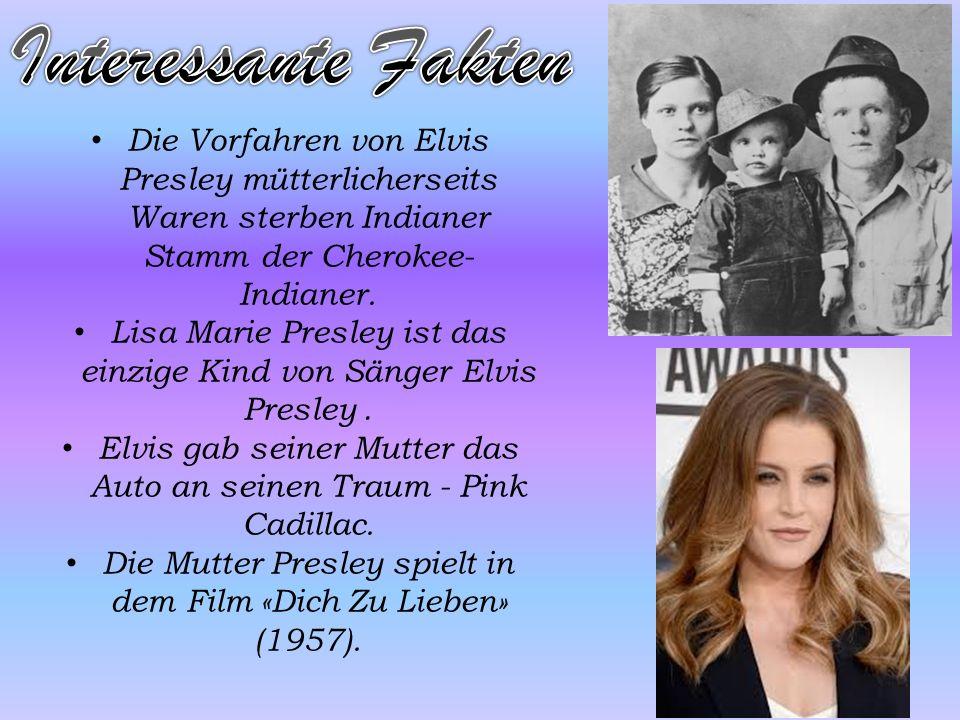Im Jahr 1956 Elvis Presley war schon bekannt auf der ganzen Welt. Im Jahr 1973 Elvis Presley krank und süchtig nach Drogen. 16. August 1977 Elvis Pres