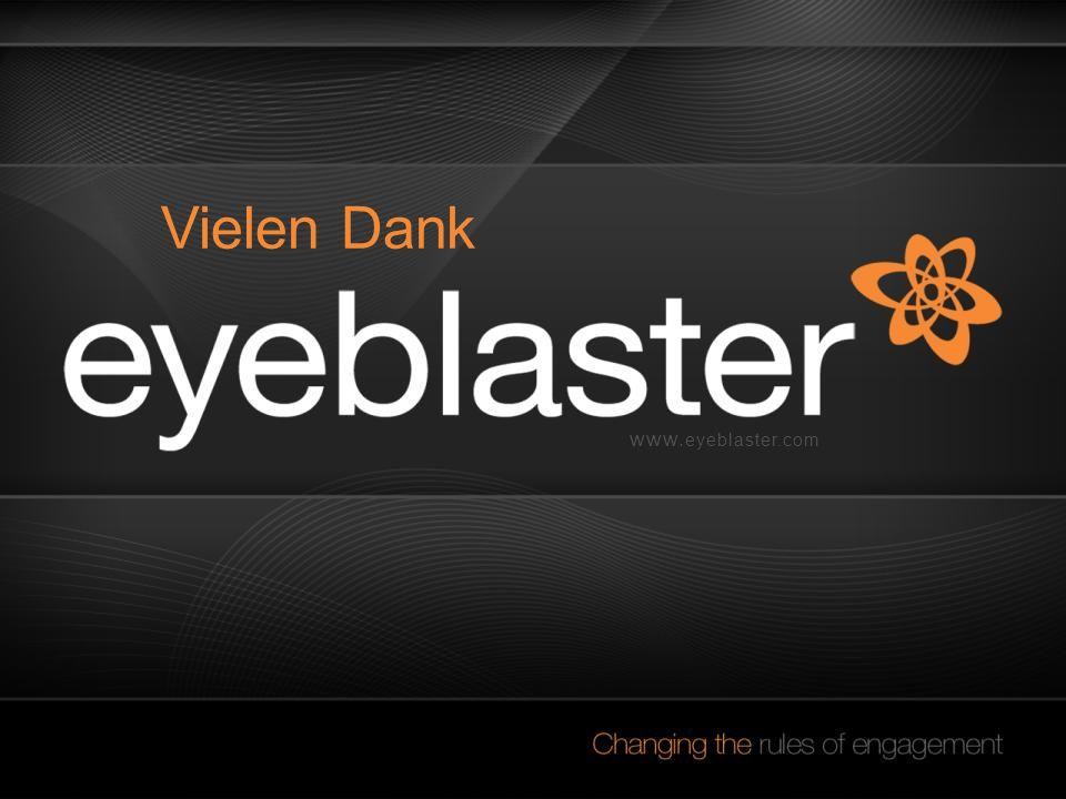 www. eyeblaster.com Vielen Dank