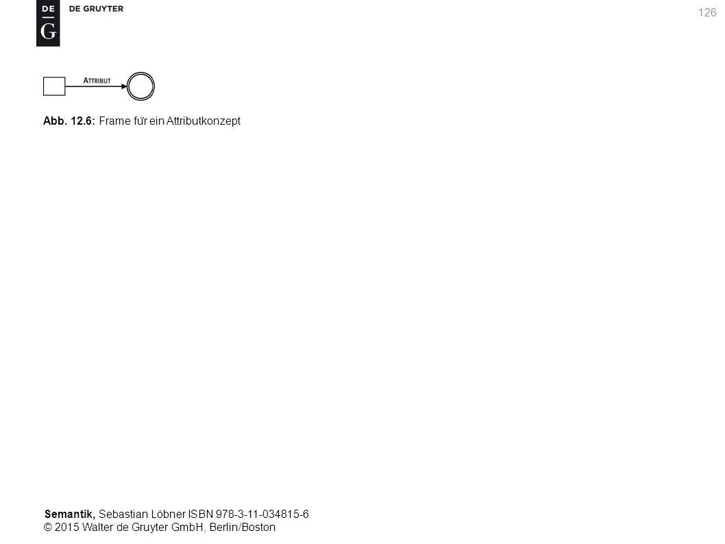 Semantik, Sebastian Löbner ISBN 978-3-11-034815-6 © 2015 Walter de Gruyter GmbH, Berlin/Boston 126 Abb. 12.6: Frame fu ̈ r ein Attributkonzept