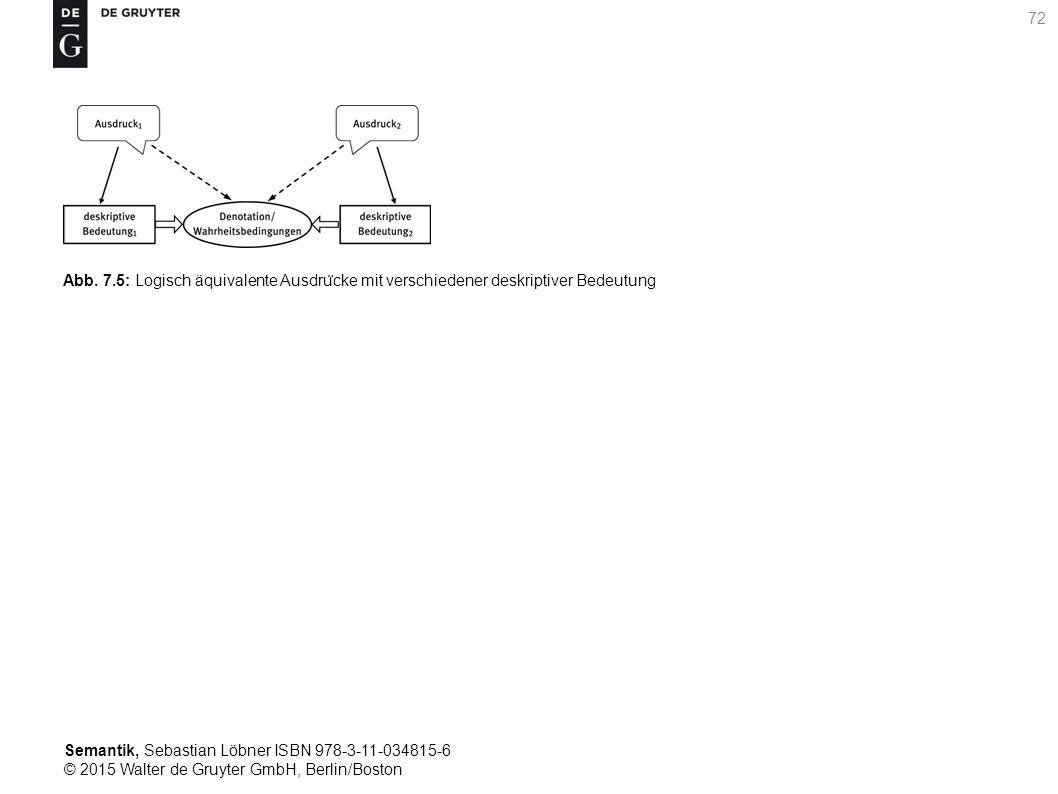 Semantik, Sebastian Löbner ISBN 978-3-11-034815-6 © 2015 Walter de Gruyter GmbH, Berlin/Boston 72 Abb.