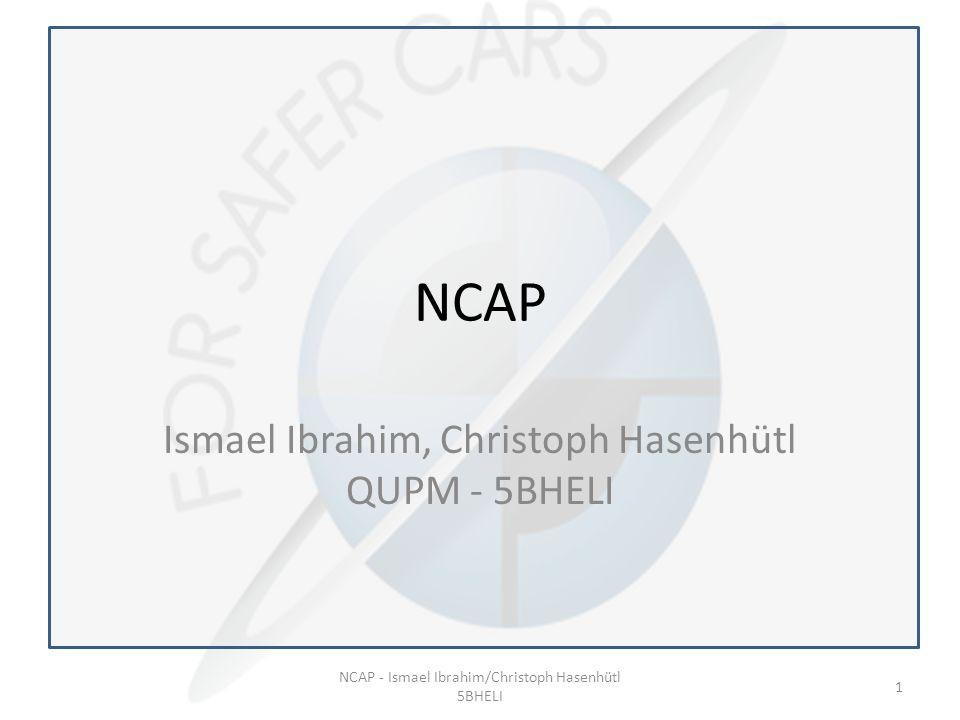 NCAP Ismael Ibrahim, Christoph Hasenhütl QUPM - 5BHELI NCAP - Ismael Ibrahim/Christoph Hasenhütl 5BHELI 1