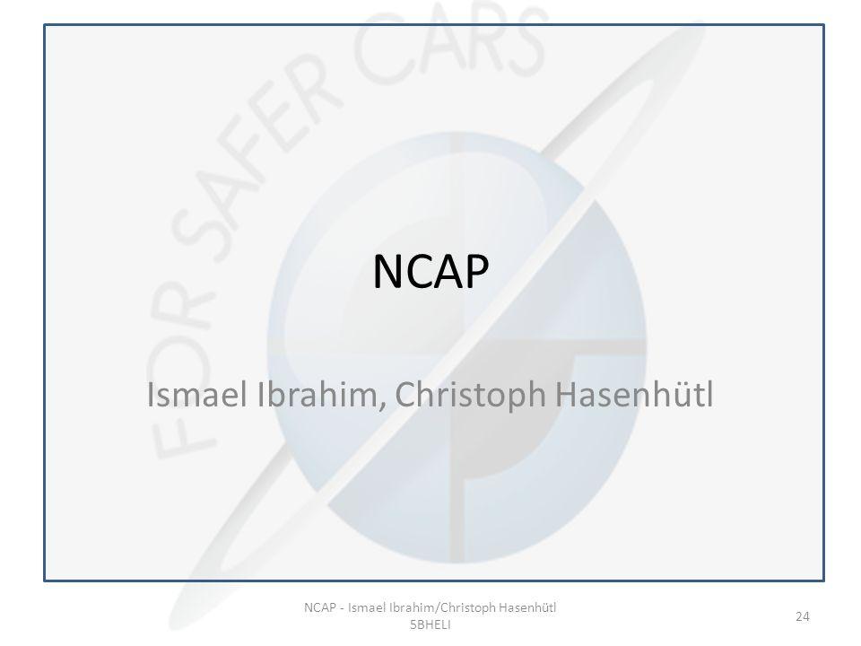 NCAP Ismael Ibrahim, Christoph Hasenhütl NCAP - Ismael Ibrahim/Christoph Hasenhütl 5BHELI 24
