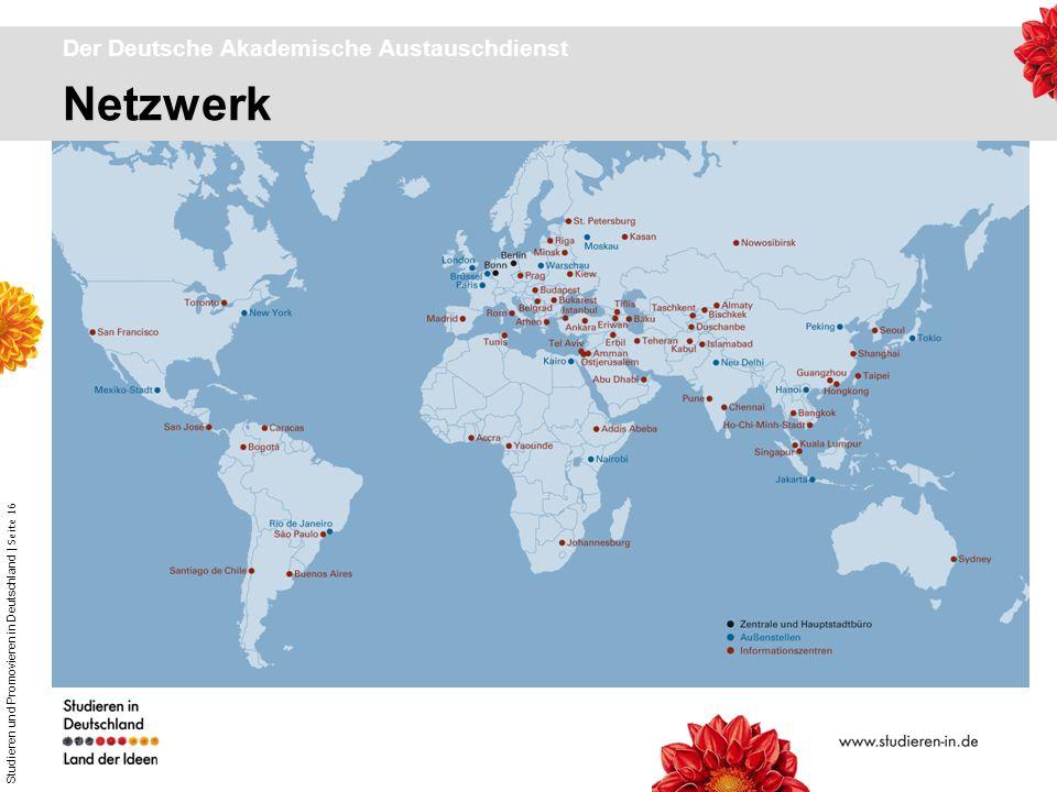 Studieren und Promovieren in Deutschland | Seite 16 Netzwerk Der Deutsche Akademische Austauschdienst