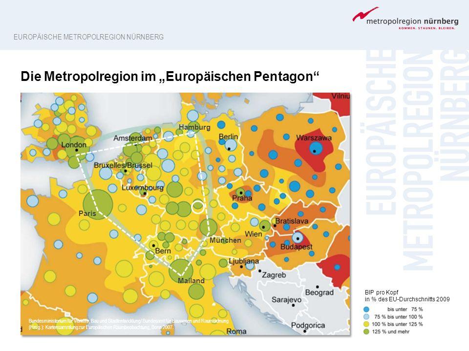 Bundesministerium für Verkehr, Bau und Stadtentwicklung/ Bundesamt für Bauwesen und Raumordnung (Hrsg.): Kartensammlung zur Europäischen Raumbeobachtu