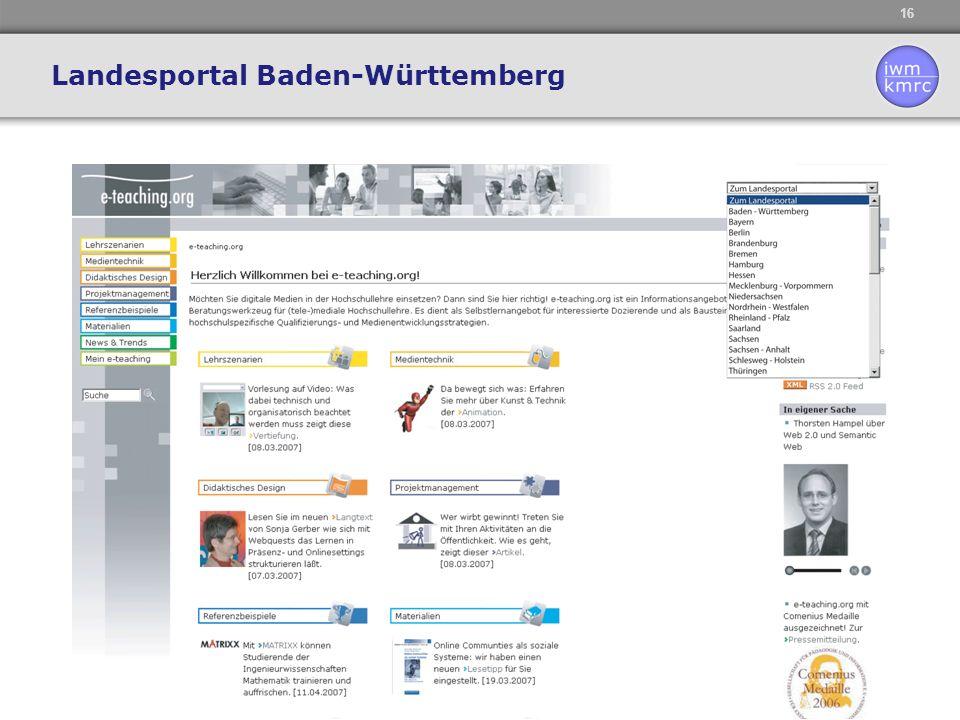 16 Landesportal Baden-Württemberg