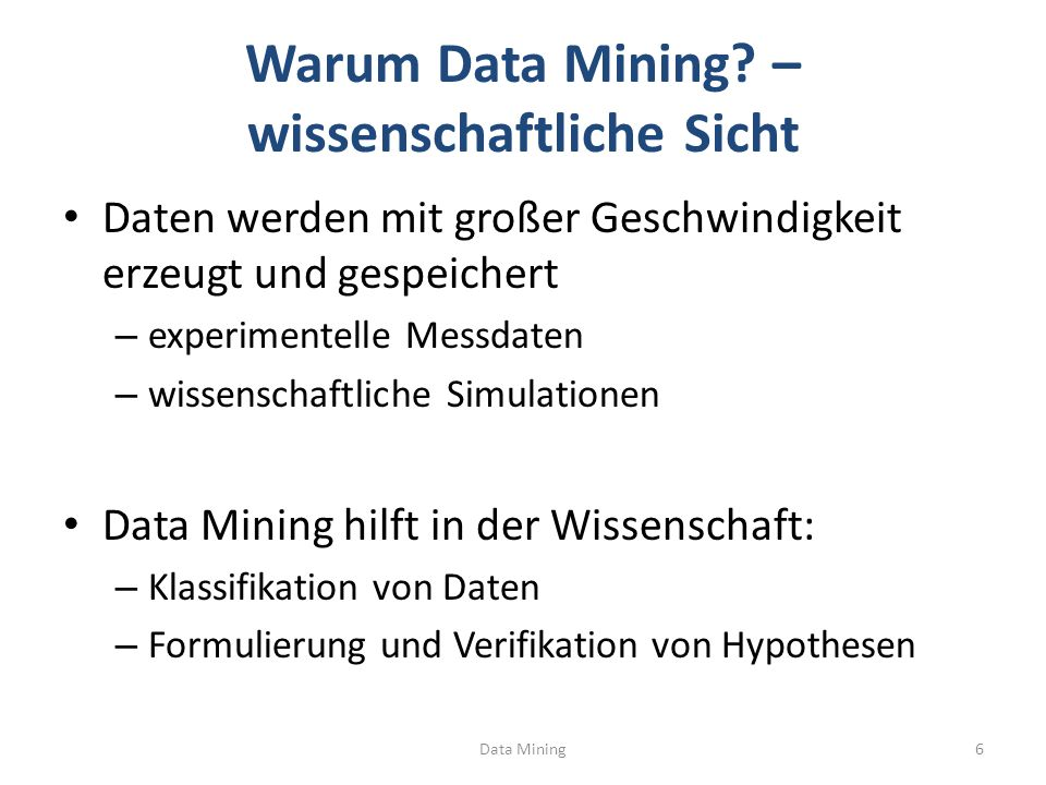 Was ist Clustering.