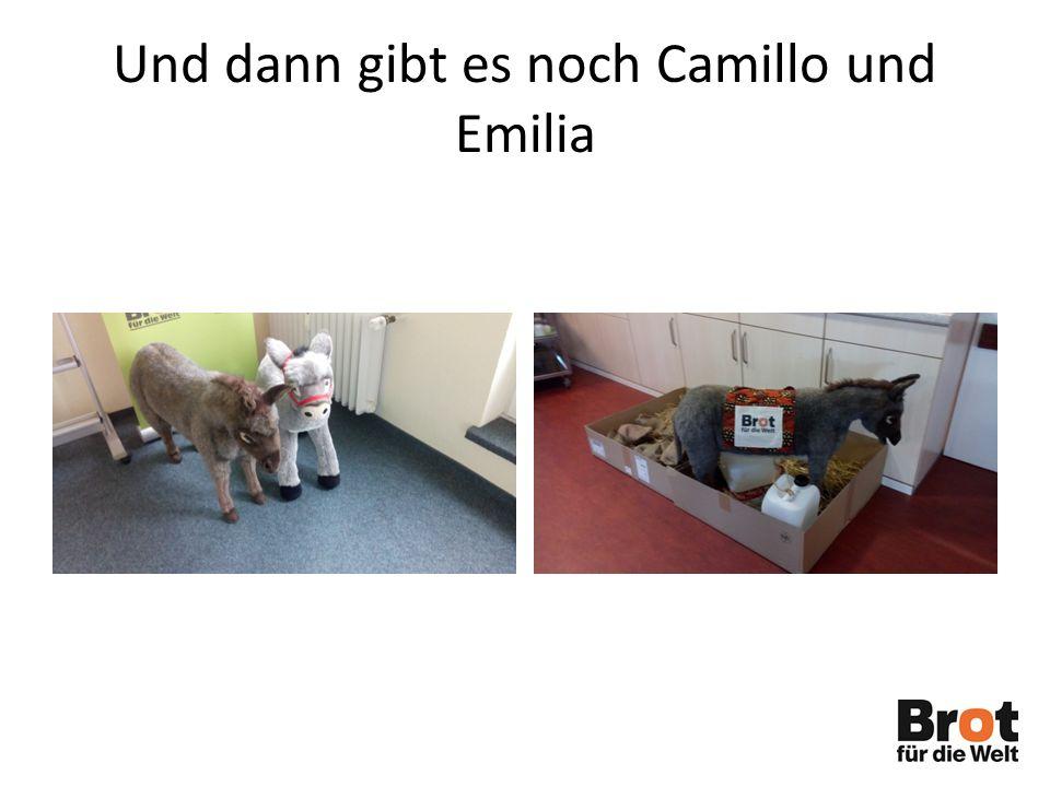 Und dann gibt es noch Camillo und Emilia
