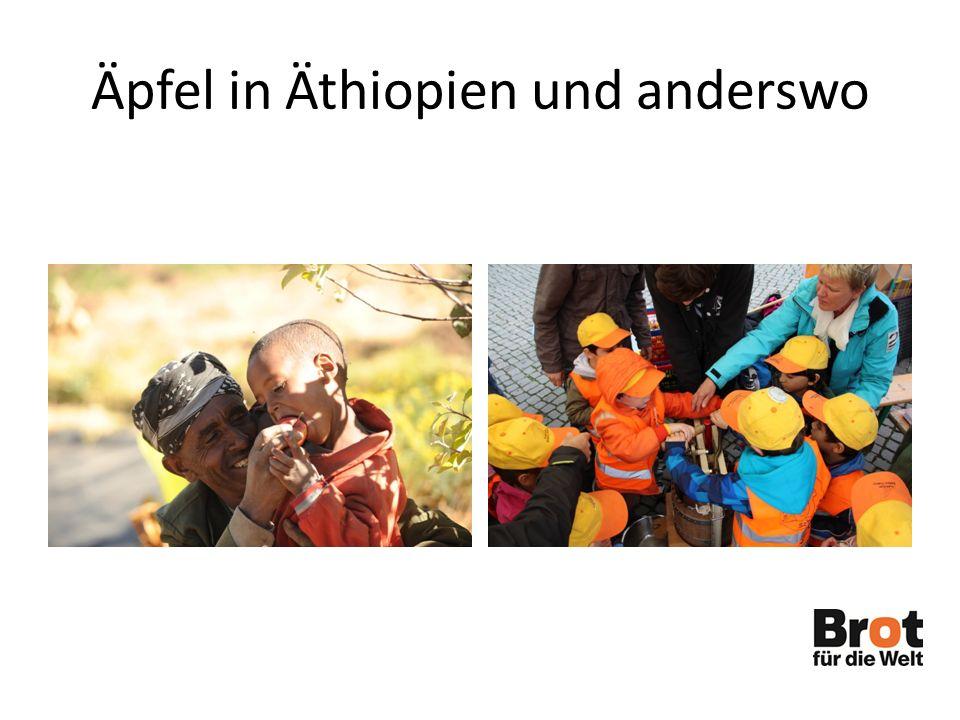 Äpfel in Äthiopien und anderswo