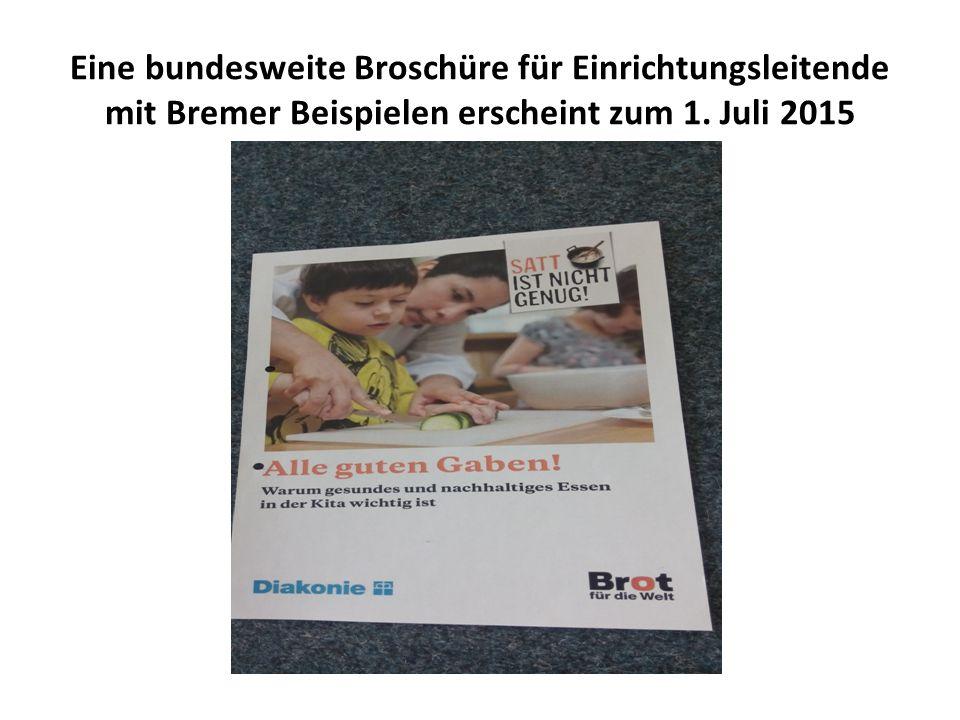 Eine bundesweite Broschüre für Einrichtungsleitende mit Bremer Beispielen erscheint zum 1.
