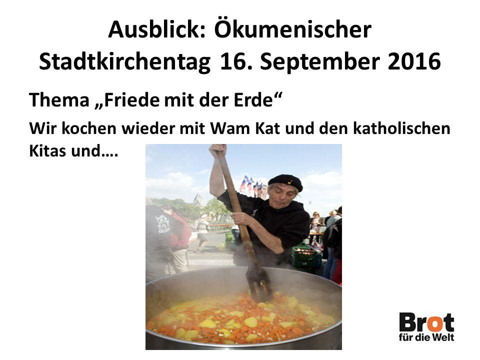 Ausblick: Ökumenischer Stadtkirchentag 16.