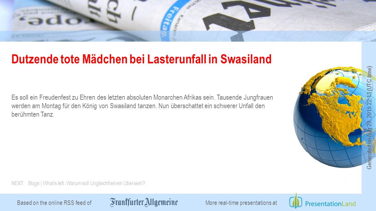 Based on the online RSS feed of Blogs | What's left: Warum soll Ungleichheit ein Übel sein.