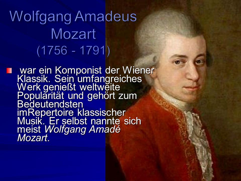 war ein Komponist der Wiener Klassik.