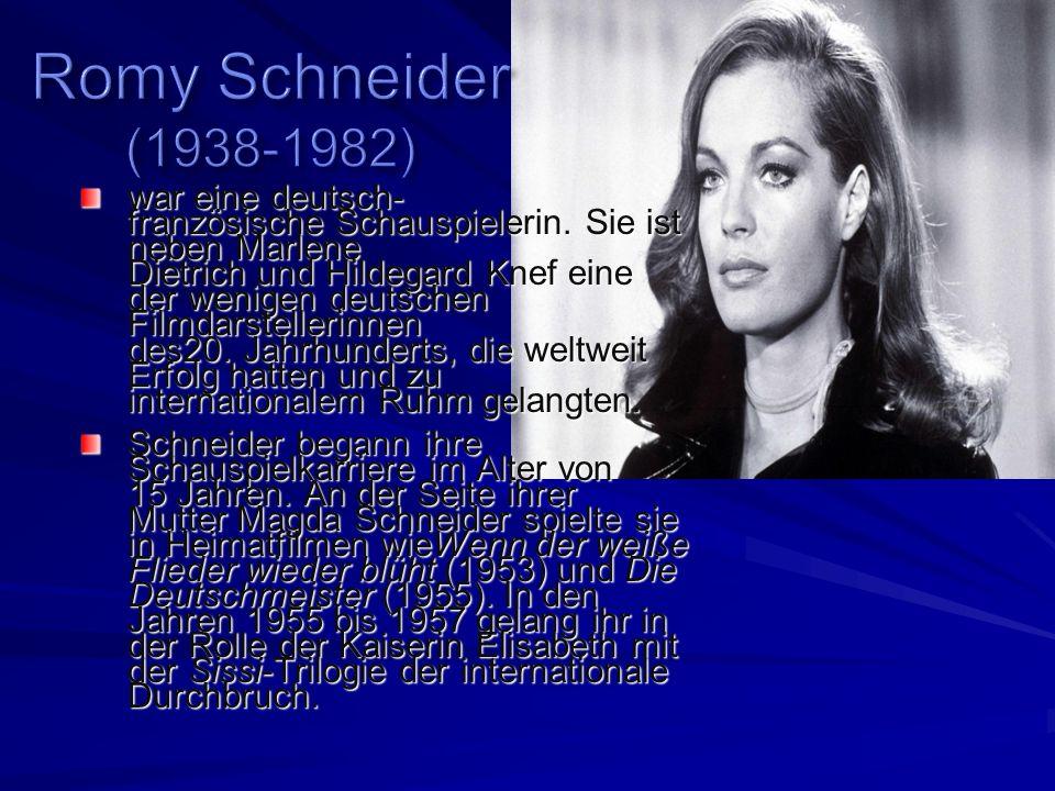 war eine deutsch- französische Schauspielerin.