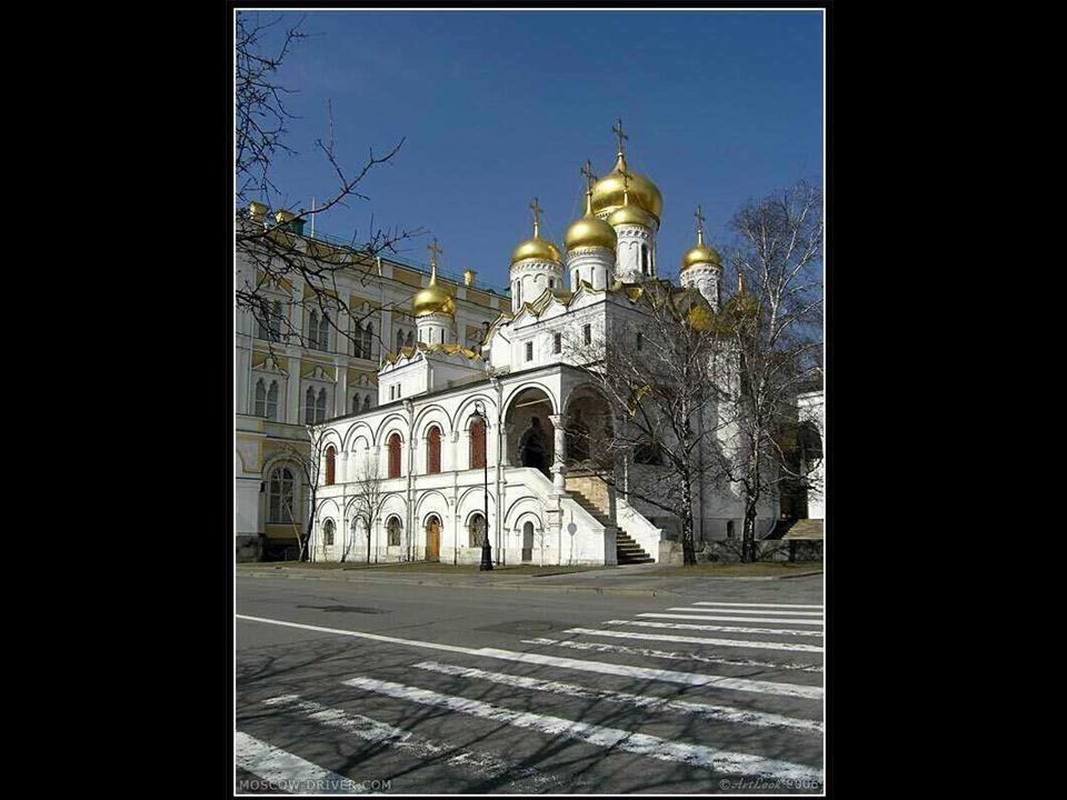 Eine der vielen Kirchen in Moskau