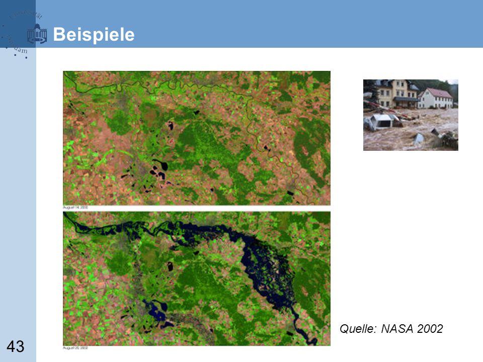 43 Quelle: NASA 2002 Beispiele