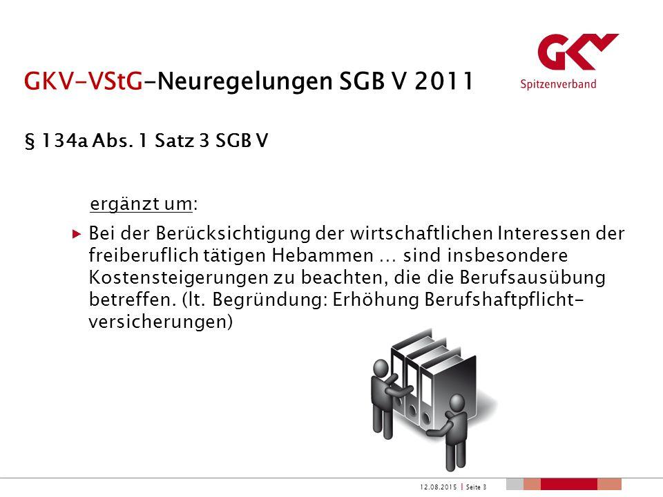 PNG-Neuregelungen SGB V 2012 § 24c –f SGB V, ehemals §§ 195 RVO ff.