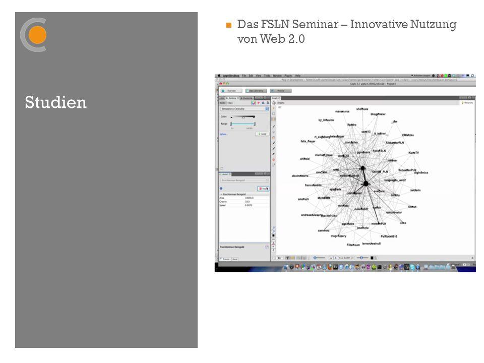 Studien Das FSLN Seminar – Innovative Nutzung von Web 2.0