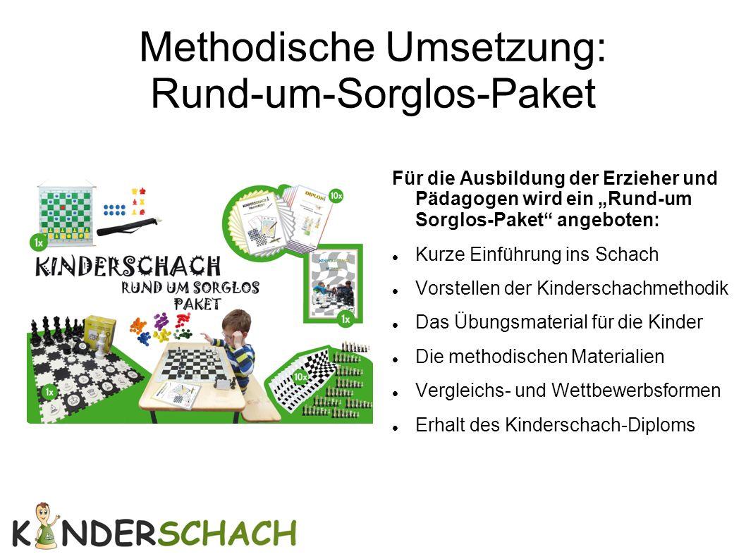 """Methodische Umsetzung: Rund-um-Sorglos-Paket Für die Ausbildung der Erzieher und Pädagogen wird ein """"Rund-um Sorglos-Paket"""" angeboten: Kurze Einführun"""