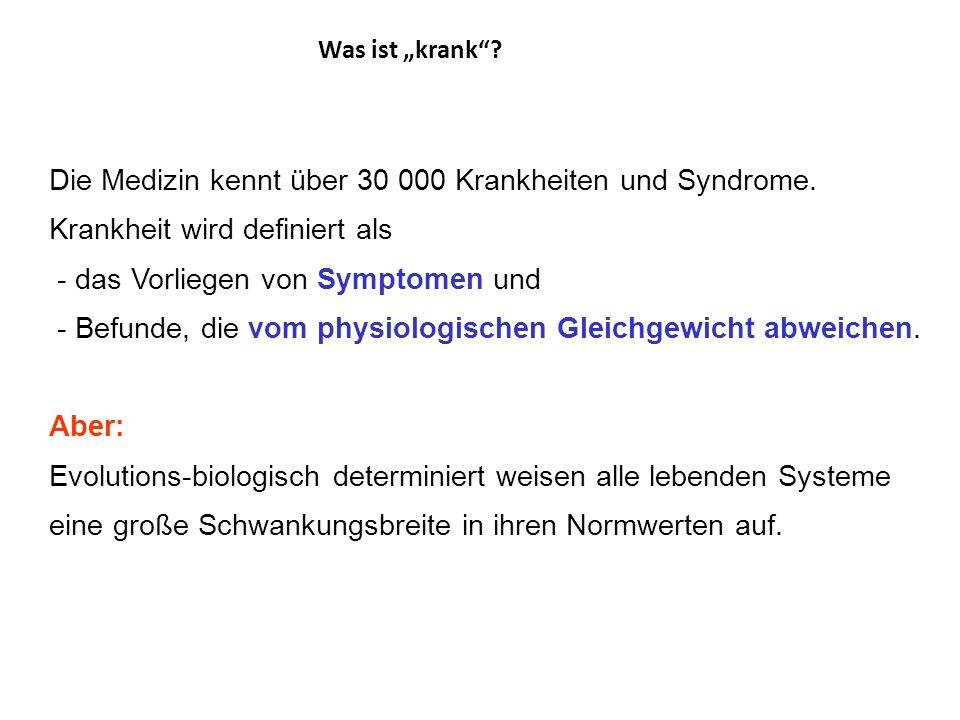Fazit: Es gibt keine allgemein anerkannte Definition von Gesundheit und Krankheit. Aber: Das Definitionsmonopol von Krankheit räumt die Gesellschaft d