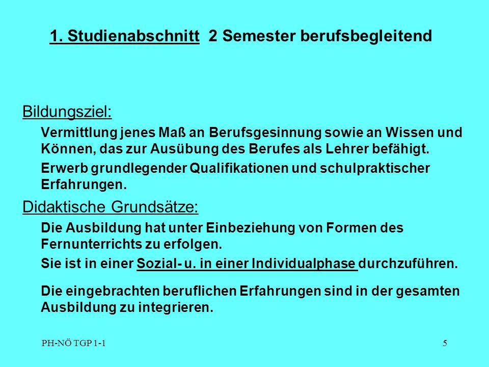 """PH-NÖ TGP 1-16 Anmeldeprocedere Die Neulehrer inskribieren an jener PH, wo sie voraussetzlich das Vollzeitstudium absolvieren (Wien, OÖ, Stmk., Tirol) Diese PH überprüft die Zulassungskriterien und stellt den """" Zulassungsbescheid aus Aufgrund dieser Zulassung wird der Studierende/die Studierende auch Angehöriger/Angehörige an der PH NÖ Der Anmeldezeitraum ist in jeder """"Zentrumshochschule verschieden (siehe Homepage) Die Inskription muss persönlich vorgenommen werden."""