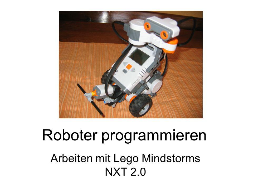 Roboter programmieren Arbeiten mit Lego Mindstorms NXT 2.0
